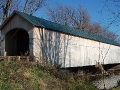 Swamp Road Covered Bridge after renovation